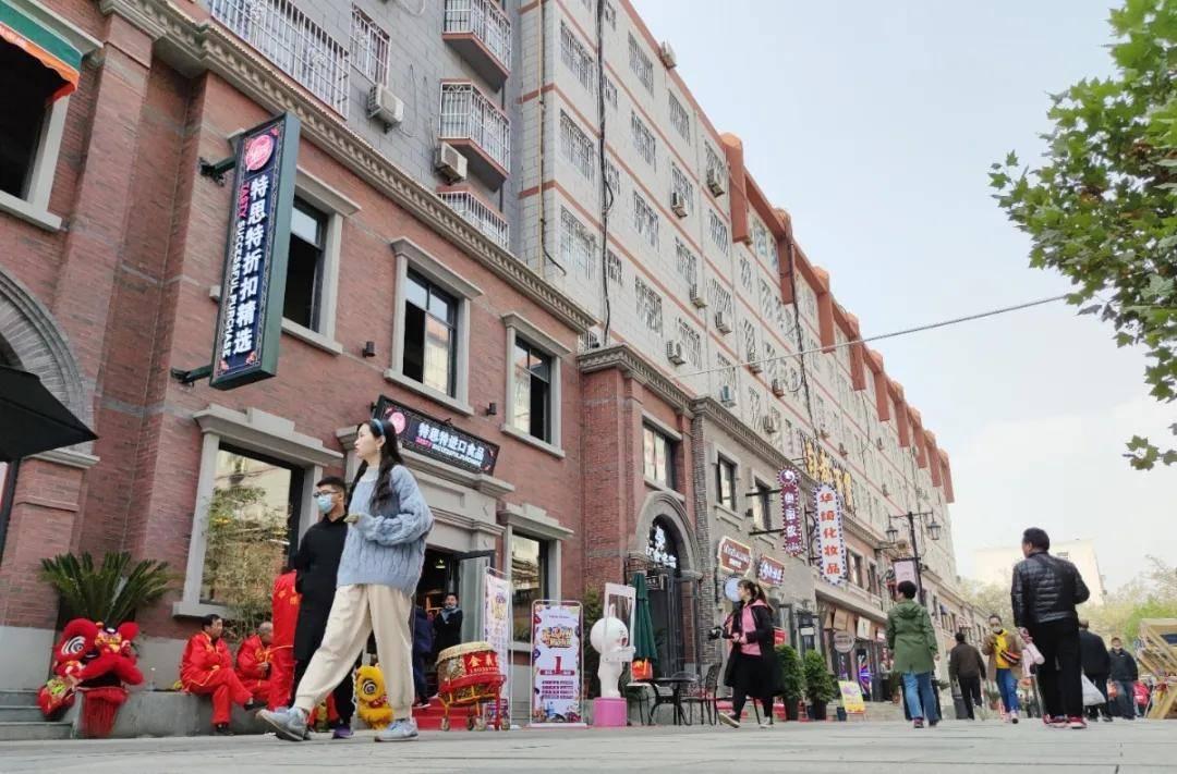 """洛阳又多了一处网红打卡地——新""""广州市场步行街""""正式亮相!"""