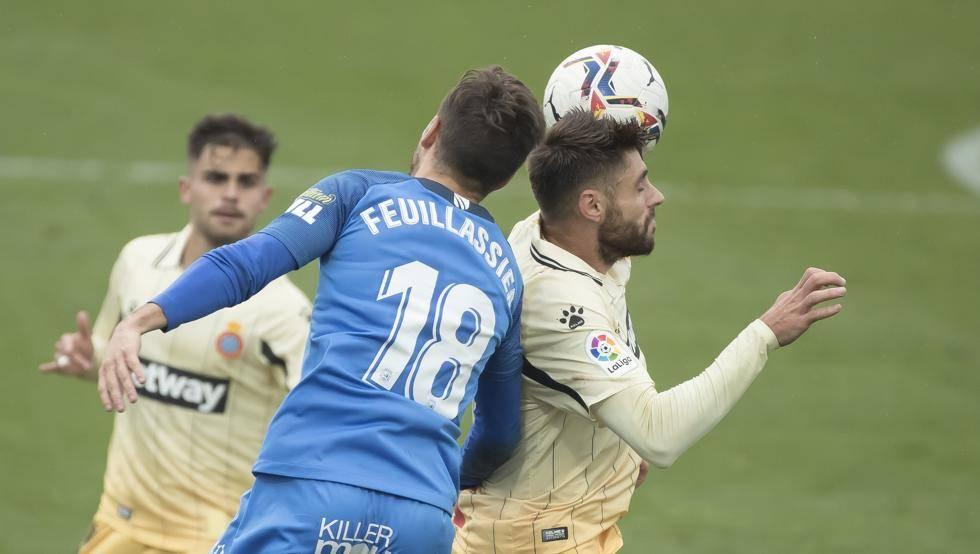 武磊候补出场德托马斯破门 西班牙人1-1客平