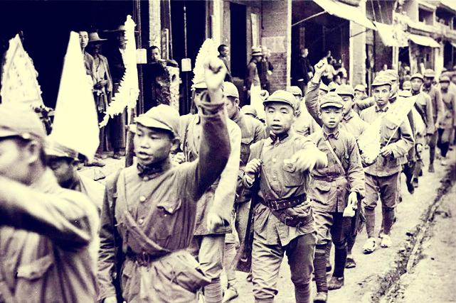 原创   肖劲光:黎川失守,受彭德怀保护,旱鸭子却被毛泽东钦点海军司令    第8张