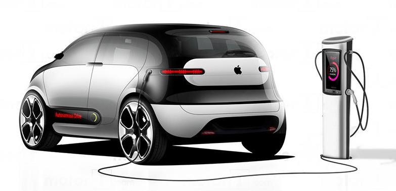 原创             苹果新专利亮相,苹果距离造车还远吗?