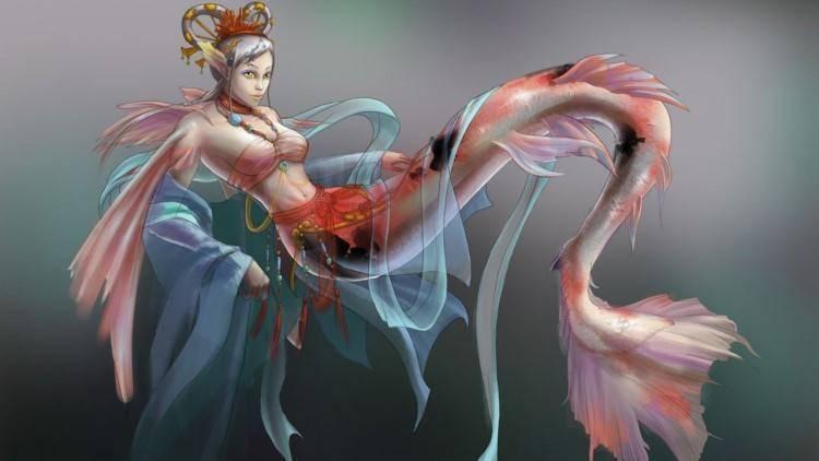 人鱼是什么生物,秦皇陵内长明灯所用的人鱼膏,到底是什么物质?
