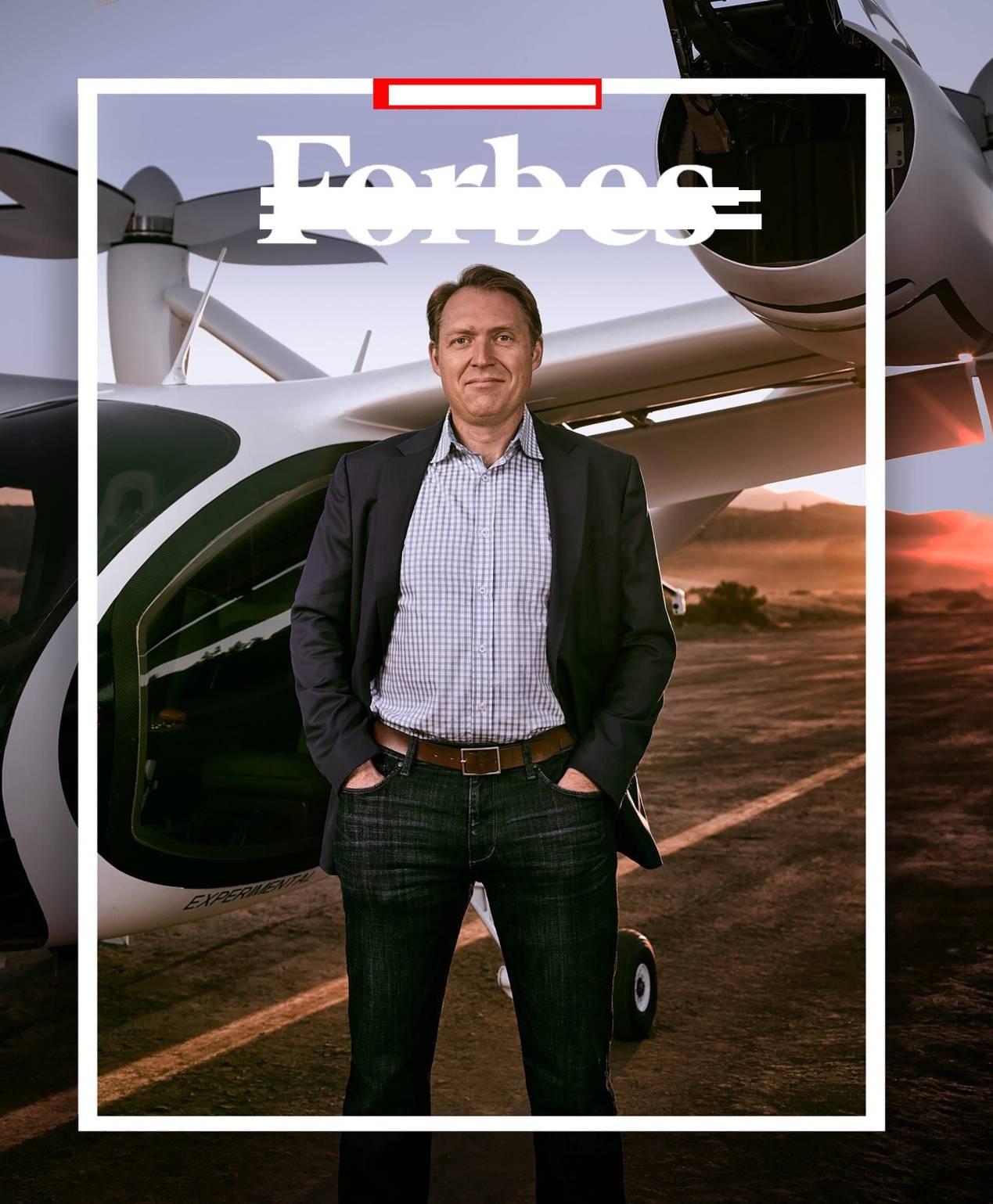 拥有10亿美元的他,3年要空中汽车布满天空,背后推手是丰田?