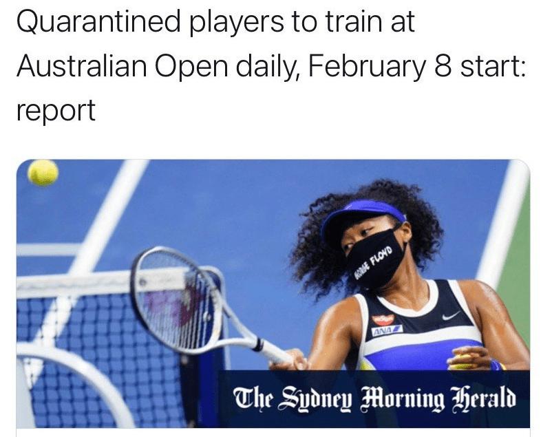 外媒:明年澳网或2月开赛 赛事总监称仍有取消可能