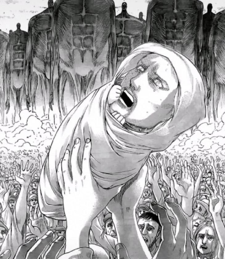 进击的巨人:贝尔托特两次流泪,暗示着什么?是伏笔还是作画手法_莱纳