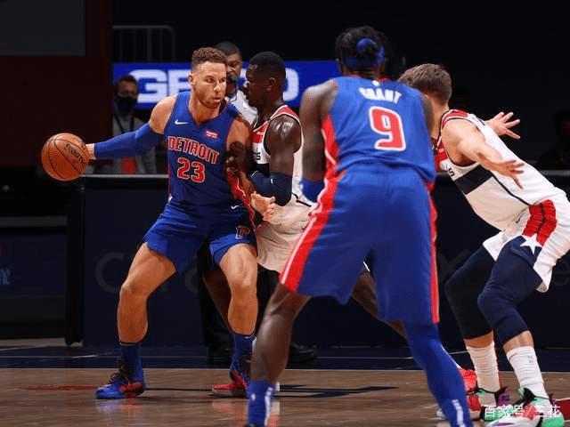 NBA-活塞轻取奇才!格里芬引冲突,罗斯10+6+6_比赛