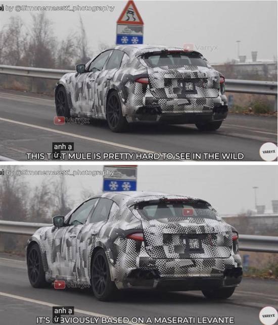 原法拉利Purosangue SUV的间谍照片曝光,预计将于2021年正式亮相