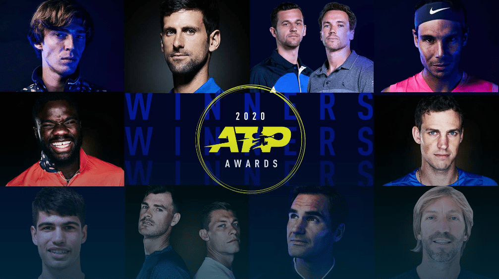 ATP年度颁奖:三巨头获奖 费德勒