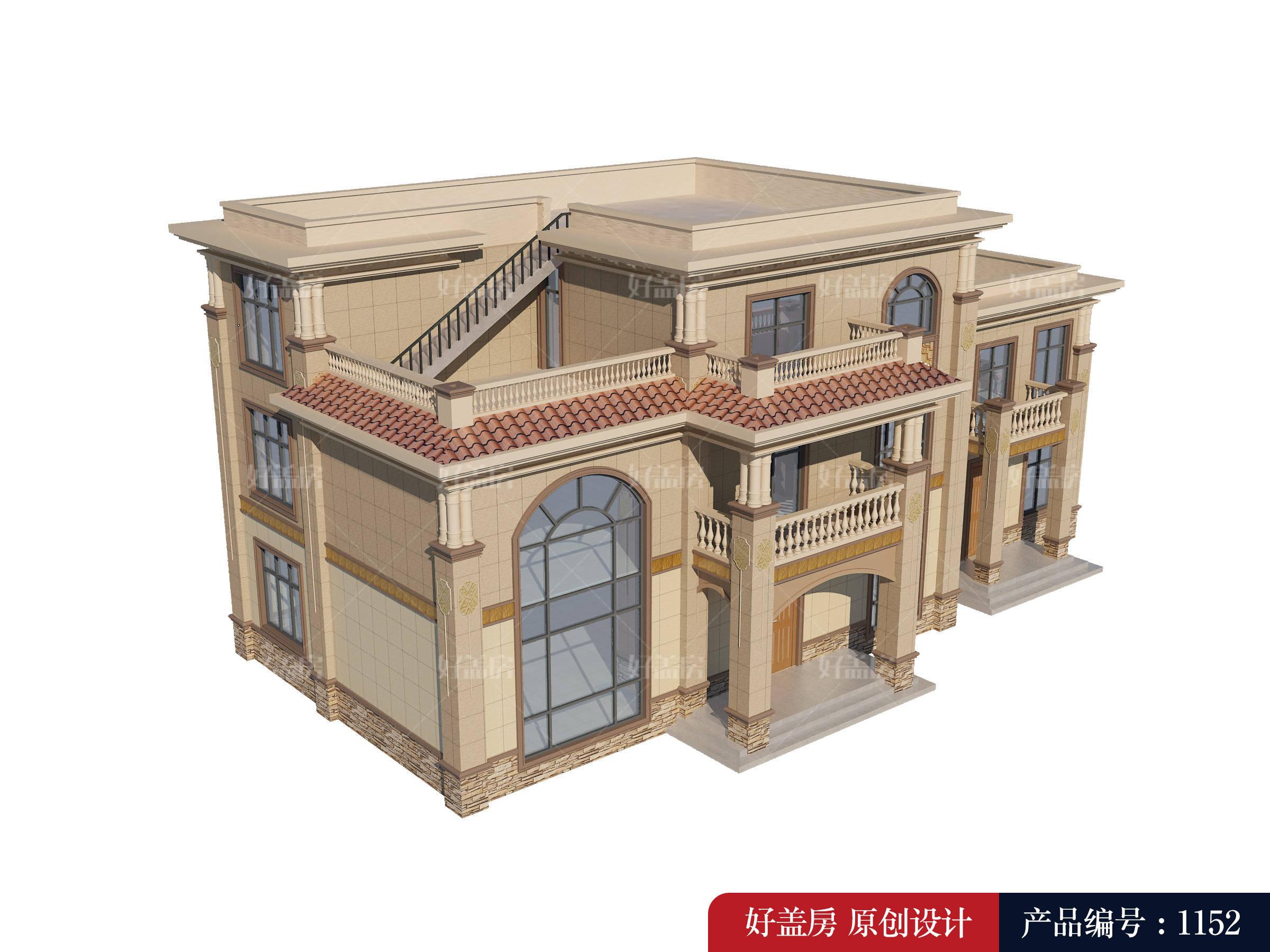 建房子设计图农村三层