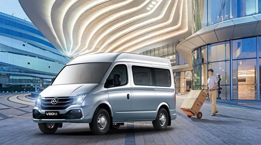 2021年SAIC大通MAXUS V80 PLUS上市,增加了9个商务旅行版本