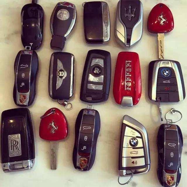 原来库存最贵的豪车钥匙,最后一把的设计竟然让你大吃一惊!