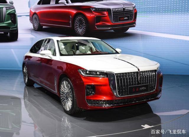 另一款原创行政级豪车,长5.1米以上,双色车身,大屏幕,起价30.98万