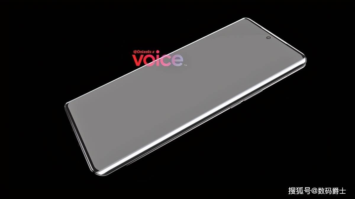 原装华为P50曝光,标准中心挖屏,屏幕大小学习iPhone12