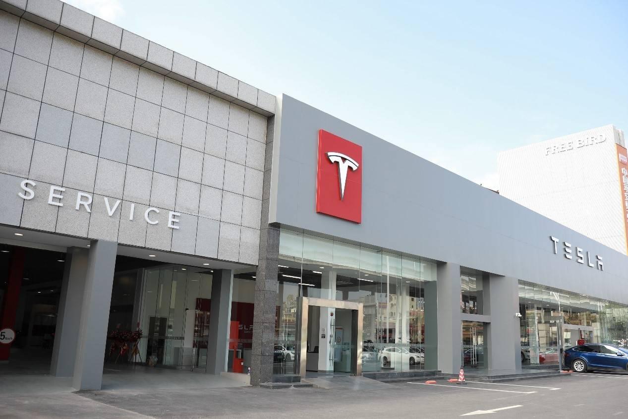 华南首家!特斯拉直营钣喷中心在广州正式开业