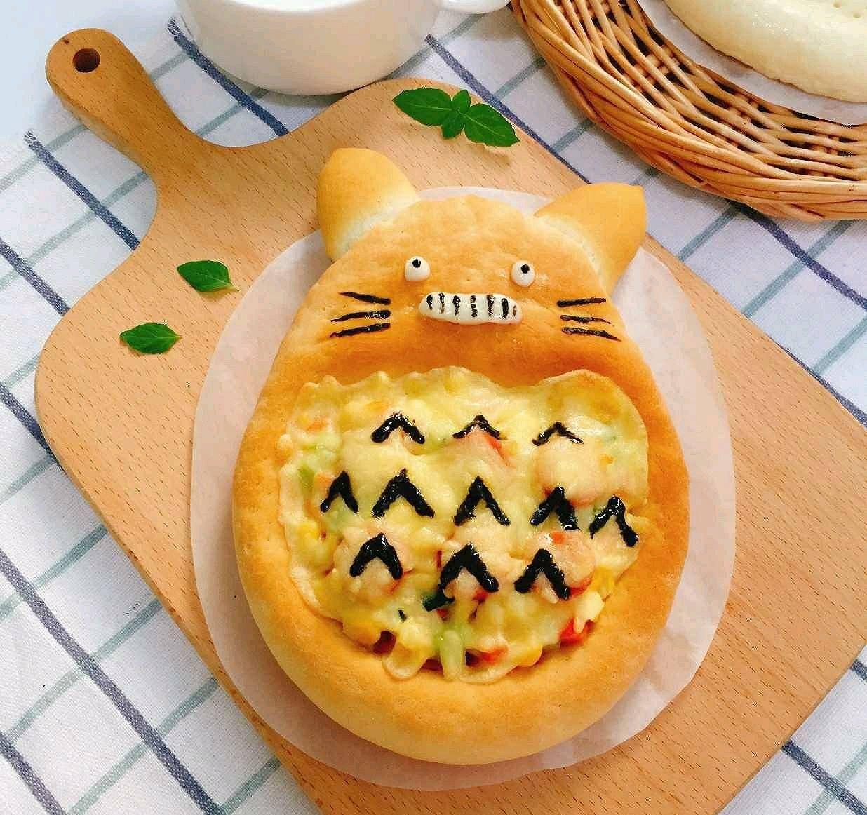 原婴儿食品补充剂【龙猫披萨】