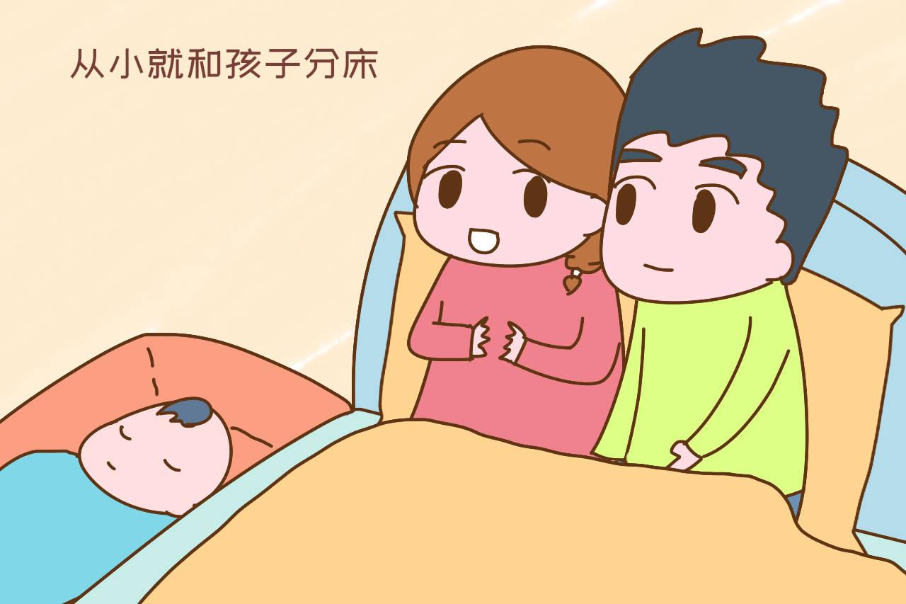 9岁男孩不敢独自睡,家长也想早分房,条件不允许咋整?  第5张