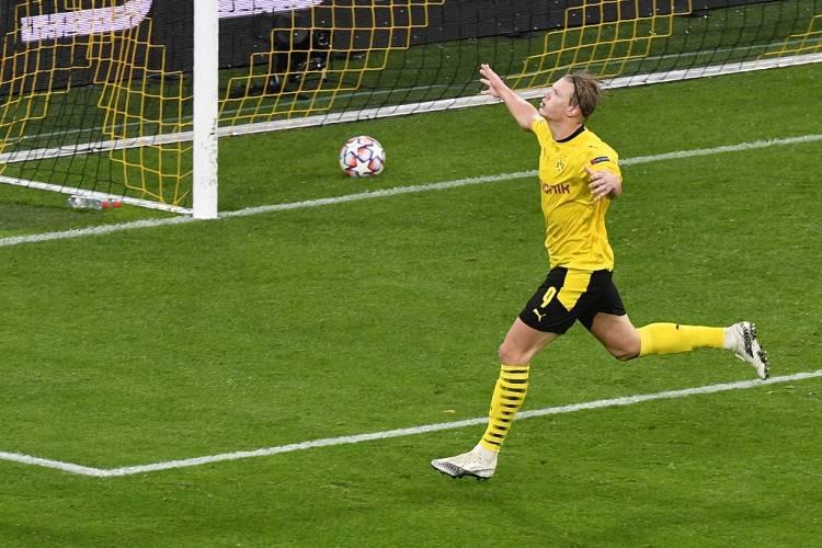 多特客场掀翻莱比锡,哈兰德个人独造3球,一人单挑整条后防线