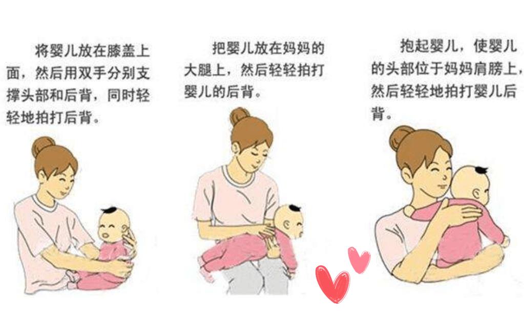 明明给娃拍了嗝,为啥还会吐奶?宝宝拍嗝有讲究,新手父母需掌握  第11张