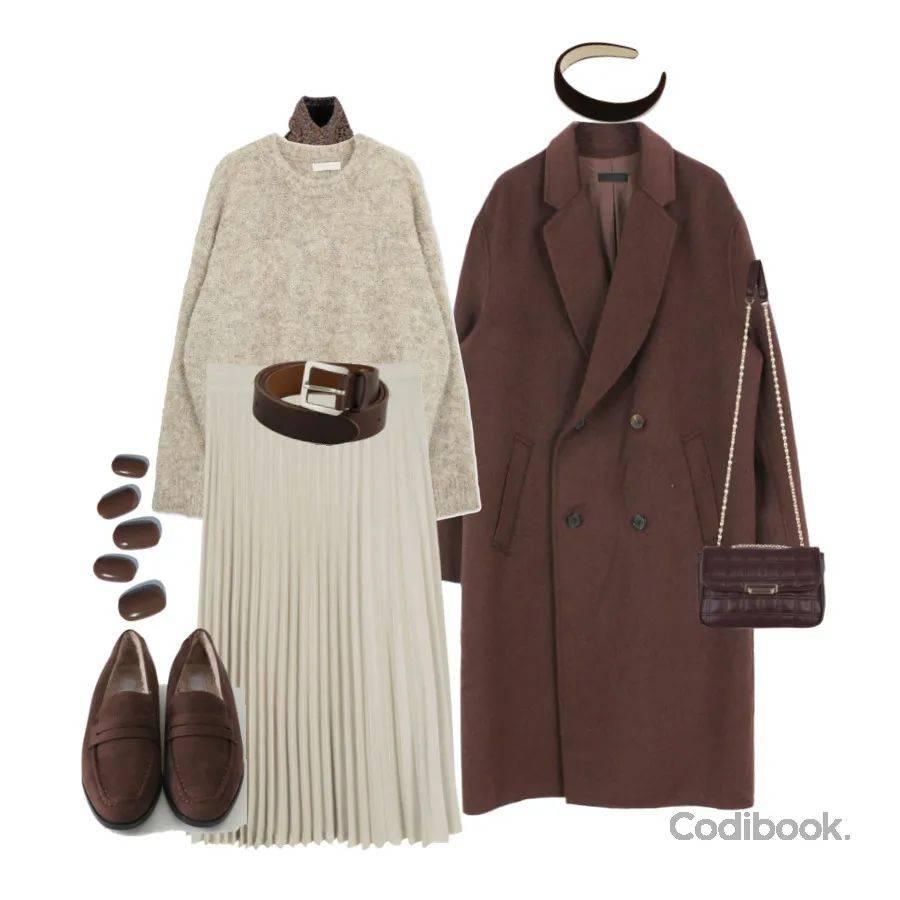 本周穿什么 气质王炸搭配,开年照着穿活该你好看!