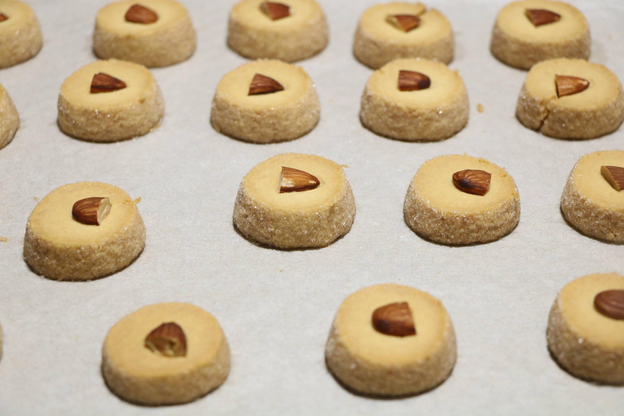 网红沙布蕾曲奇饼干,简单零失败,过年送礼特合适,好吃上档次