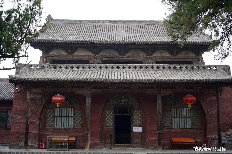 山西平遥有个冷门寺庙,比灵隐寺小众太多,还可看到1000多年的建筑  第10张