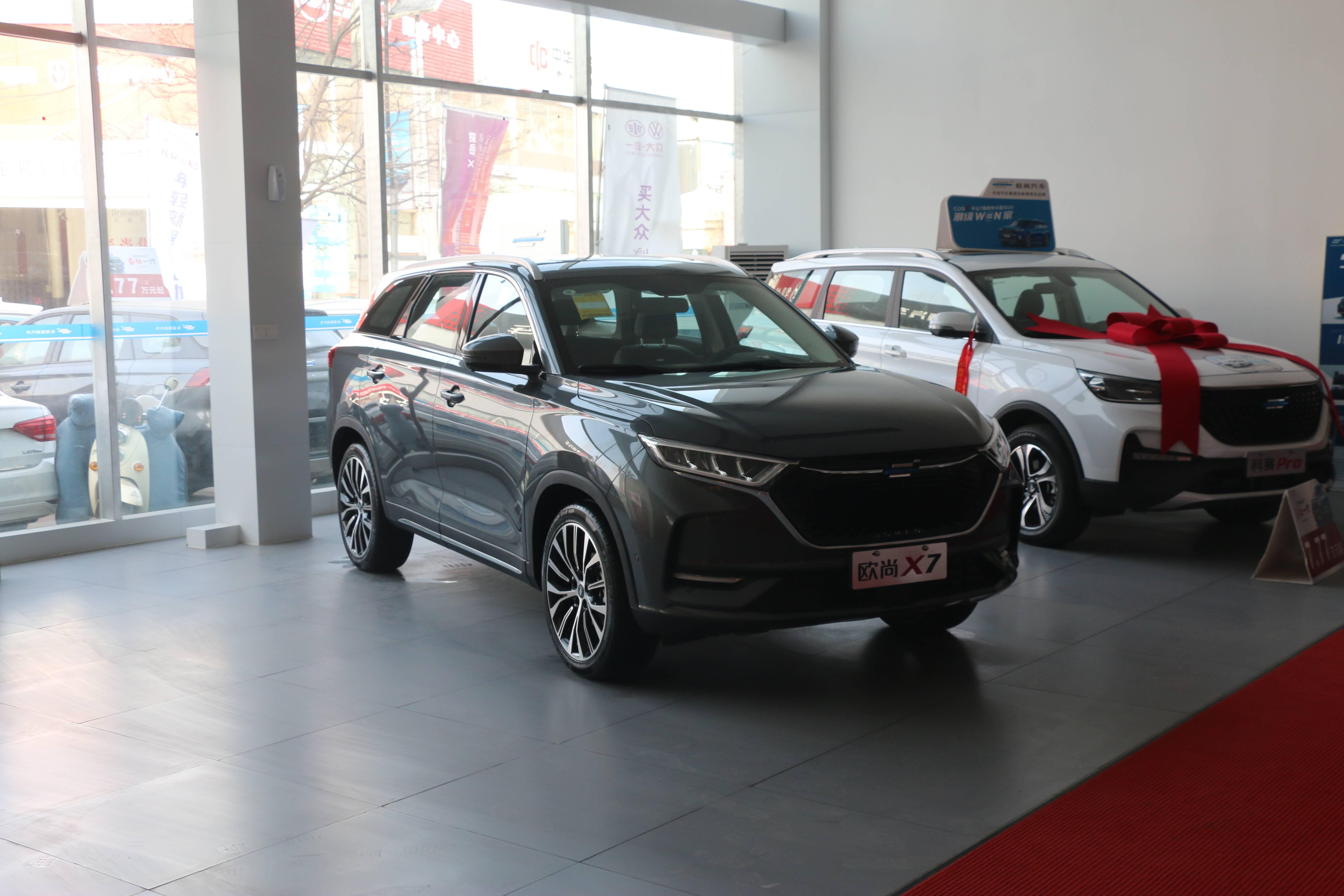 10万车主品质验证,2021长安欧尚X7刚刚红