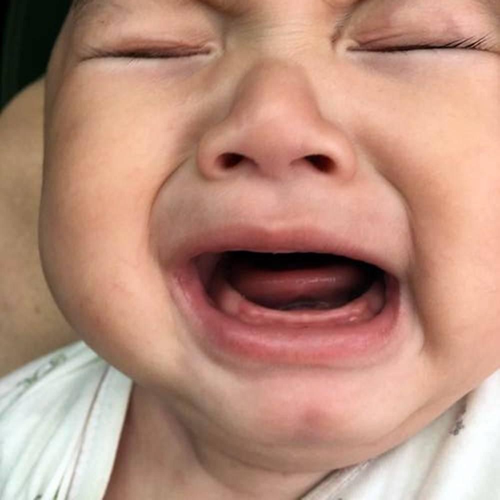 奚梦瑶儿子出牙期哭闹不止,出牙不适该如何缓解?要掌握调节法门  第6张