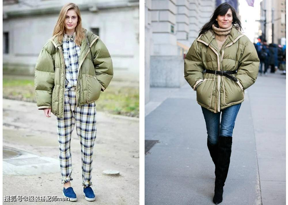 原创             什么样的衣服显胖?既要温度也要风度,这三件你要重点关注