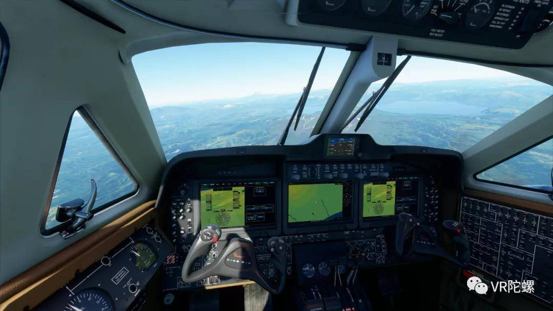 原创             【测评】苦学3天才上天?774元《微软飞行模拟2020》VR模式深度体验