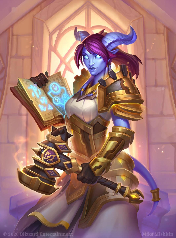 炉石传说:依旧稳健,天梯顶级圣契骑来战!