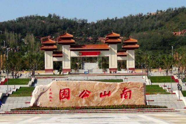 """辽宁又一大型公园火了,人称锦州""""小北海"""",面积超北海公园10倍"""