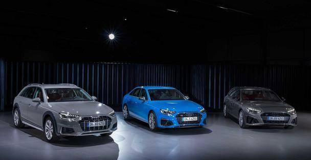 原装奥迪发布中期A4系列,外观动力全面升级