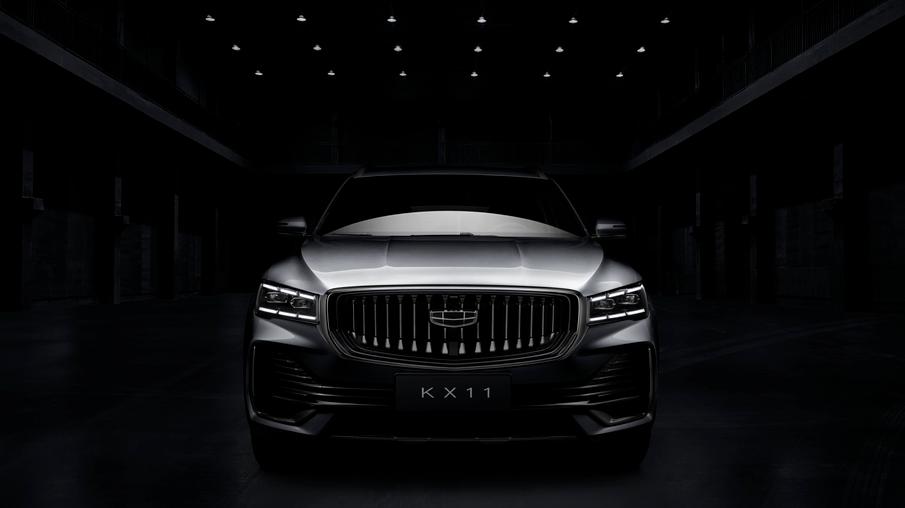 吉利新款SUV车型KX11外观曝光