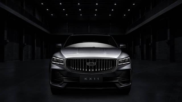 汲取CMA超级母架构精髓吉利新款SUV车型KX11官方地图曝光