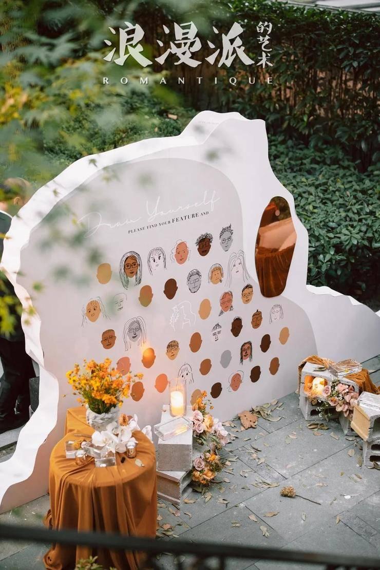 具有自然感和结构感的原始婚礼相互碰撞,满足你的仪式感