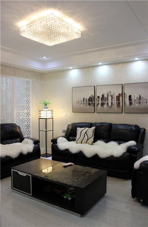 晒晒闺蜜的160平新房,没想到一进门就被惊艳到,客厅太漂亮了