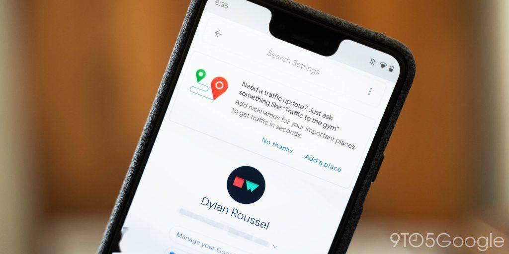Google 新智能家居 UI 设计在四月更新的基础上变得更