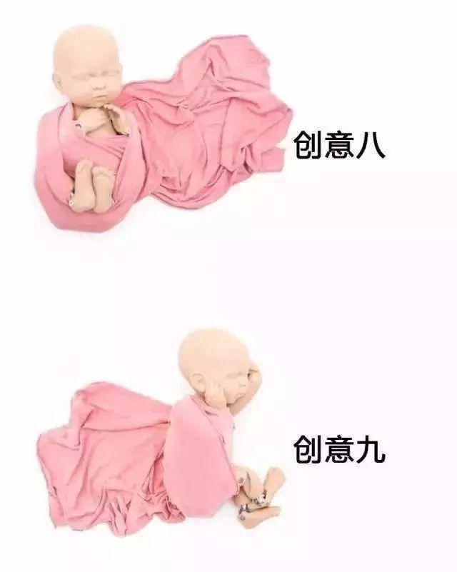 婴儿包裹方法和技巧