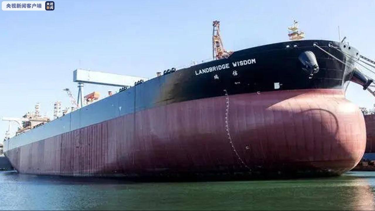 国产30万吨级油轮顺利交付使用,可装载