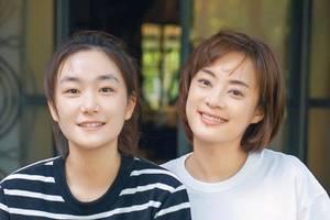 孙俪与小19岁妹妹同框似同龄,两人五官精致颜值高,姐妹花超美