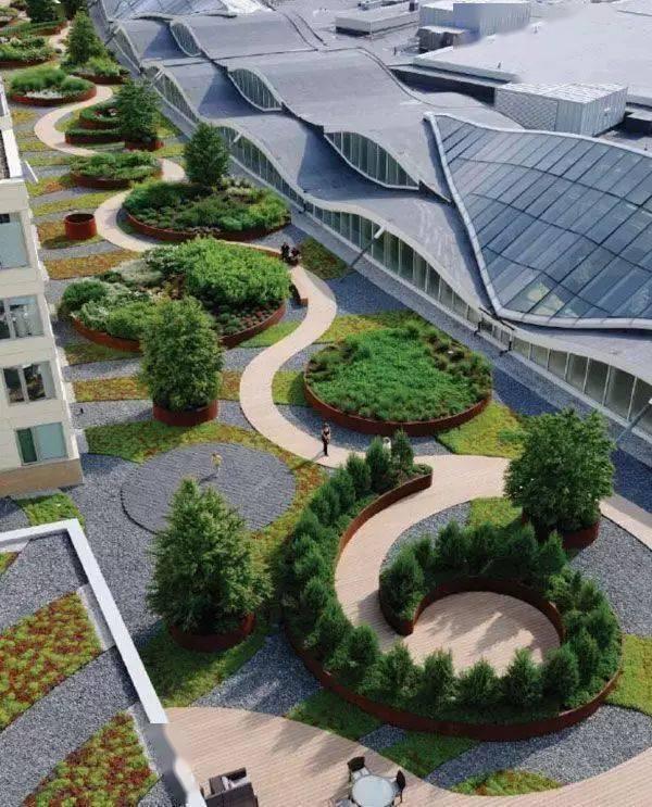 屋顶花园装修_屋顶自建休闲花园_屋顶阁楼装修
