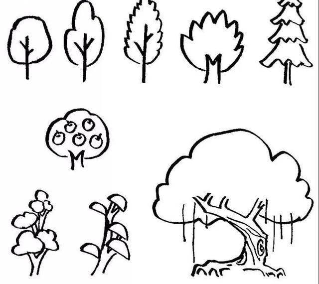 最全儿童简笔画合集,用绘画记录生活的美好,开心玩手帐