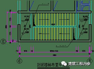 封闭楼梯模板施工方案