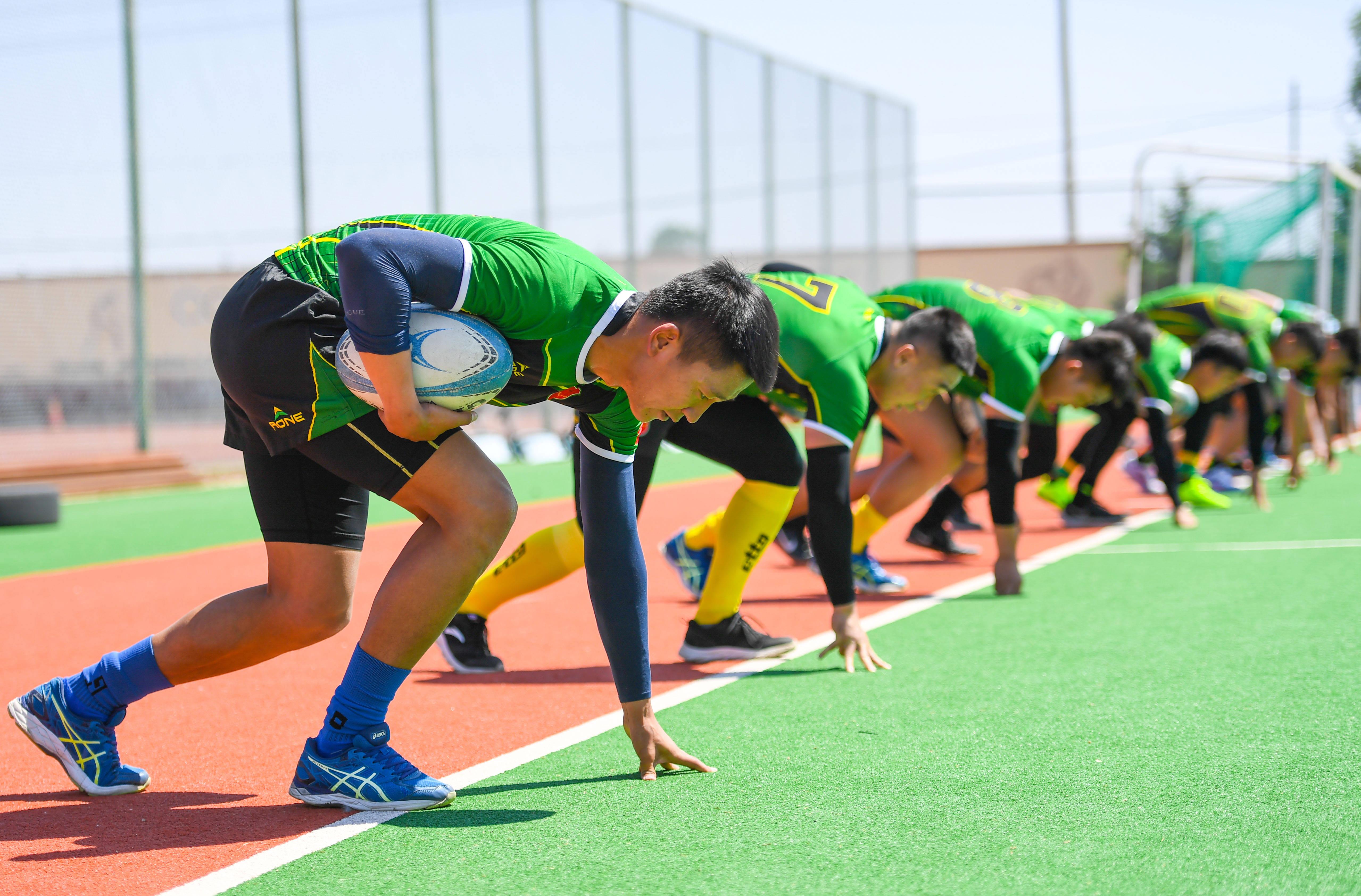 橄榄球——内蒙古橄榄球队训练备战