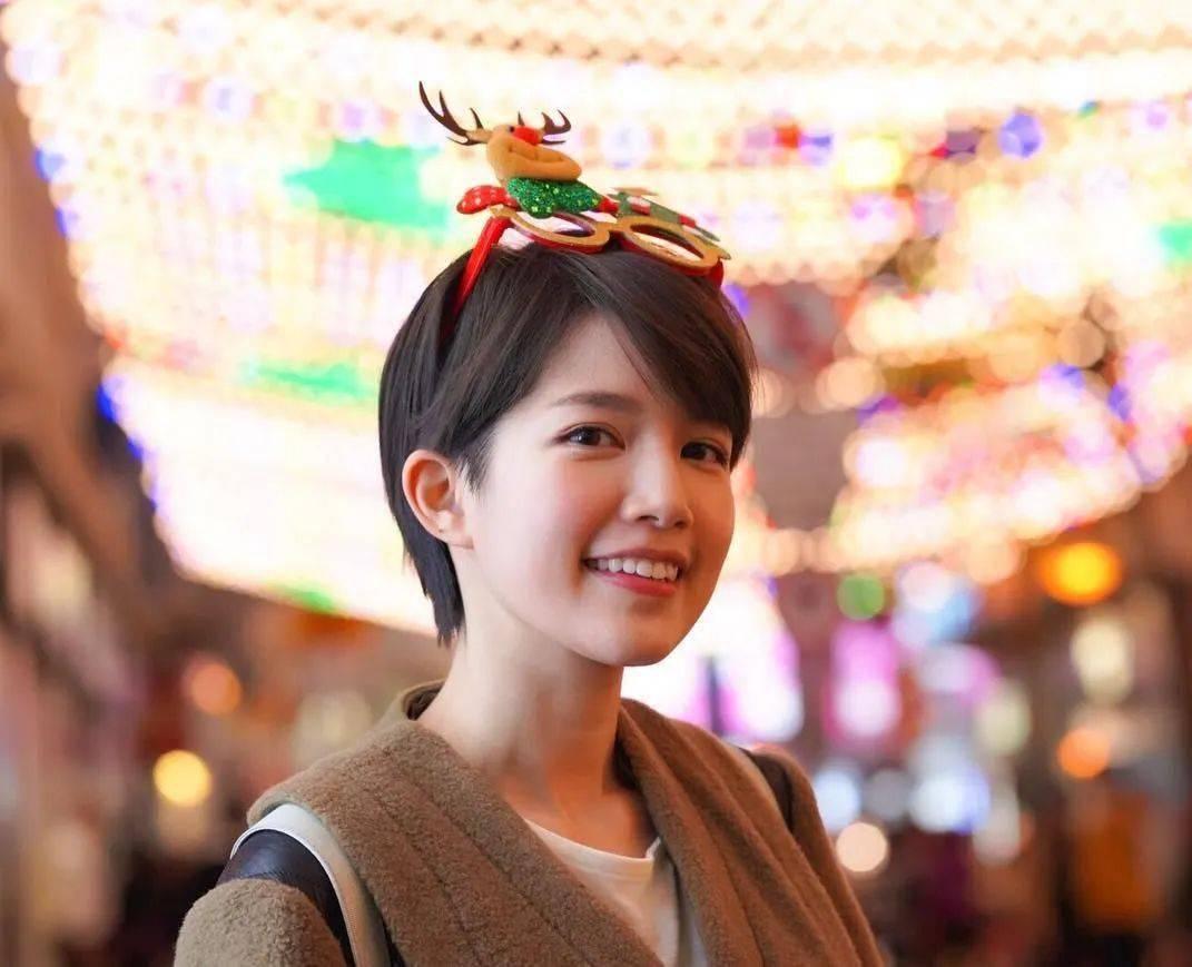 26岁「翻版周慧敏」饰演林文龙女儿,TVB短发小花成新一代气质女神!
