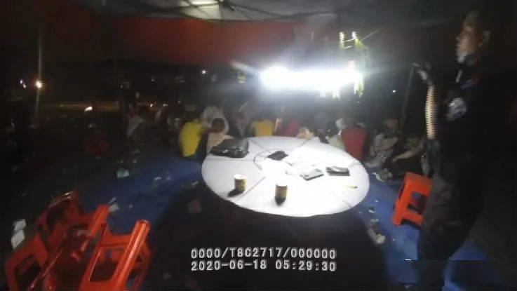 关注|10人望风、百人参赌,一个大型野外赌场被南宁警方捣毁