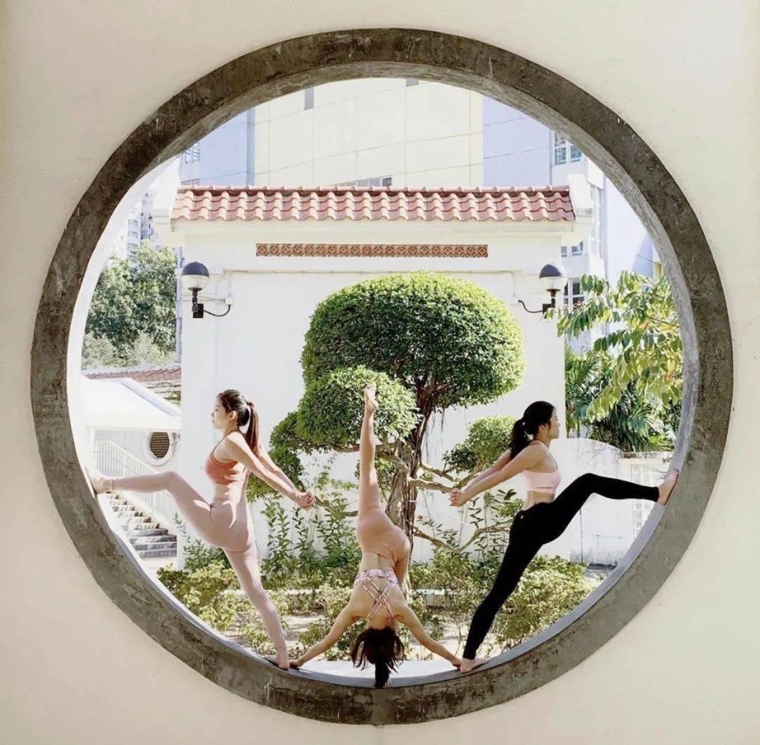 不知道双人瑜伽照怎么拍?收藏这篇文章就够啦! 减肥窍门 第17张
