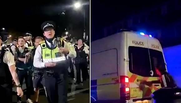 封锁太久英国兴起地下派对,警察驱散人群反被打伤 国内新闻 第1张