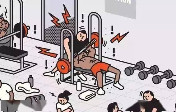 女生占器械被男生暴打,引网友争议!! 锻炼方法 第26张