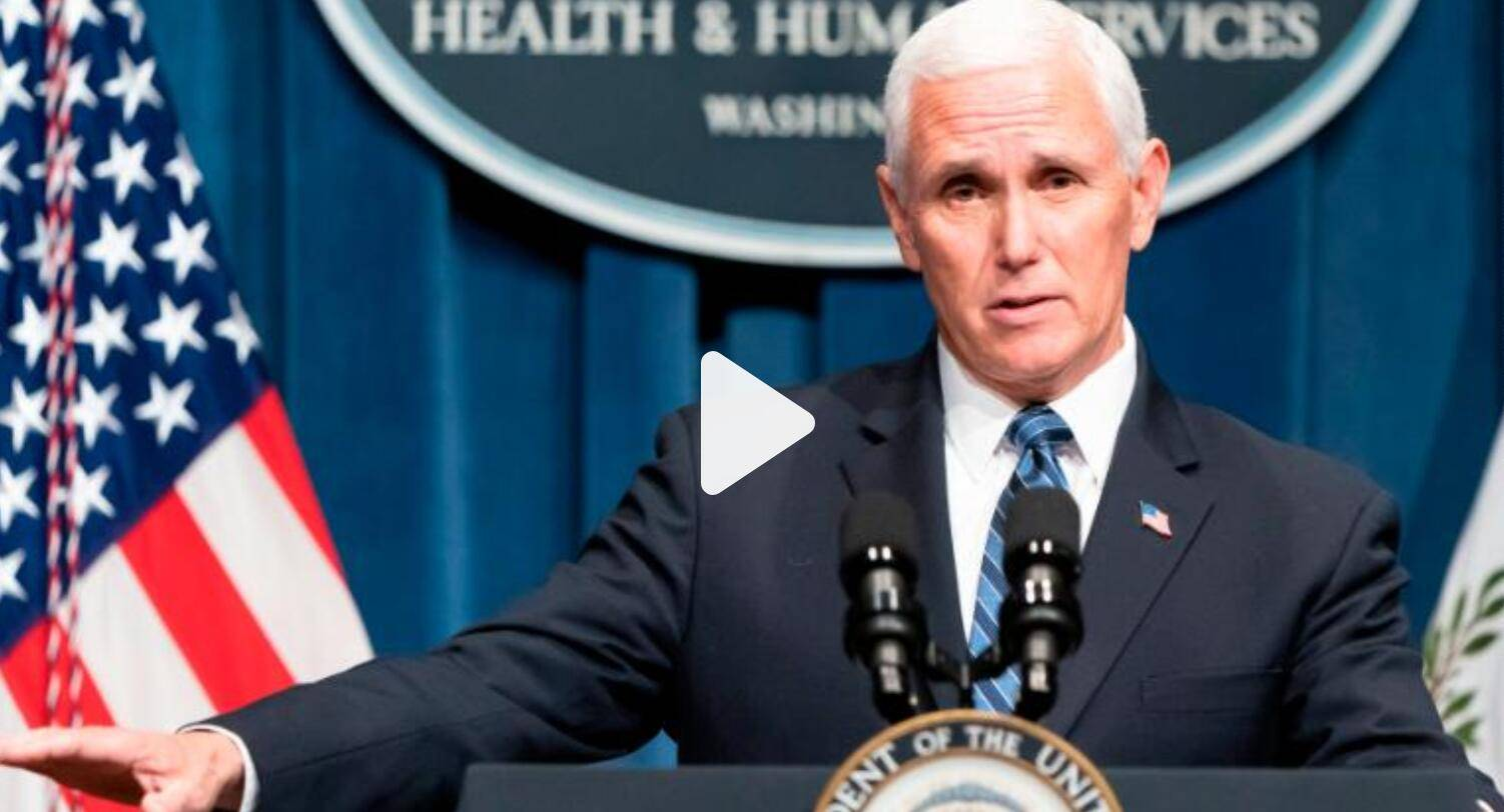 美国单日新增病例超4万再创新高,彭斯却说:反