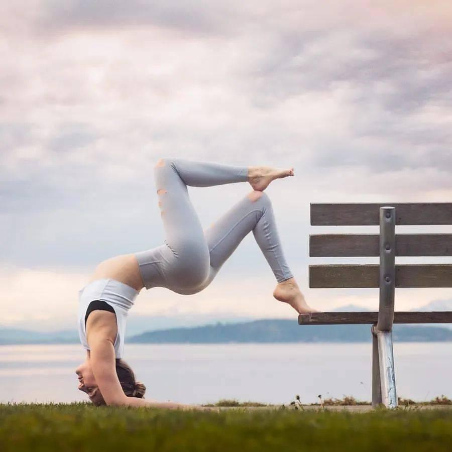 瑜伽开肩&加强肩部力量,2套动作帮你一次搞定!_双手 高级健身 第2张